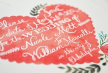 Arts and crafts - Calligraphy / by Louisa Higgins