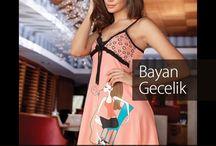 Berrak 2016 Yaz Kreasyonu Gecelik Elbise / Kadın, moda