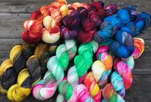 Easyknits / Fabulous Hand dyed yarns in amazingly vivid colours