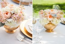Pear and Peach wedding