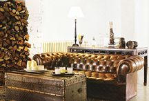 Vintage and Oriental / Vintage rooms with Oriental rugs
