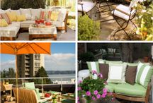 Outdoor living spaces / Life outdoors, creating beautiful spaces.
