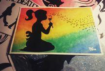 My Art&Art / Bacheca interamente dedicata alla mia arte ed a tutto ciò che realizzo con le mie mani...