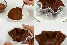 cestini cioccolato  come potete  servirlo
