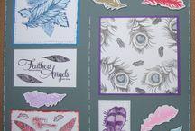 Stempelen - Feathers / Stempels van Hobby Art in Nederland verkrijgbaar bij Multihobby