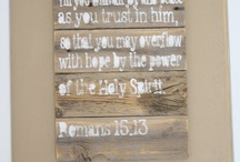 Bible Verses / by Micaela Hoogeveen