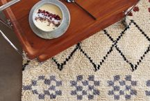Trend: 70's vibe / 70's home style, bohemian, bamboo, wicket chairs, shaggy cushions, Berger rugs
