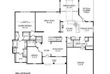 FLOORPLANS / Floorplans, plattegrond huis