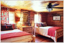 The Family Cabin  / Stuff that would work for our family cabin