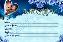 Reborn Baby Birth Certificates