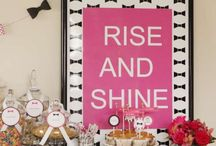 Kate Spade Party Ideas / Kate Spade party decorations, food, cakes, cupcakes and more!
