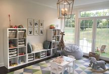 Playroom. / playroom ideas, playroom, playroom inspiration