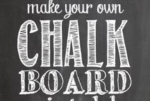 Chalkboard sayings / by Stacey Seidl