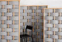 Akustik Panel Bölücü Eleman
