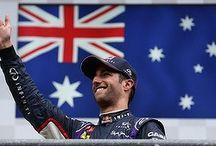Daniel Ricciardo / Australian Formula One Red Bull Racing Daniel Ricciardo