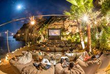 Cine en el parque