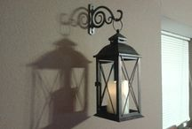 Lampiony na ścianę