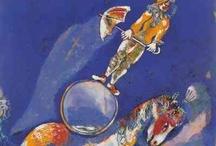 Circus+Clown paintings (13 ARP)