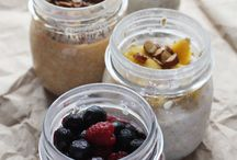 Overnight Oats / #Overnightoats recipes - #portable, #masonjar #breakfast