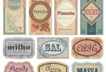 Letreros / Marcas/nombres