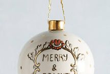 Silver and Gold for the Holidays / Metallic decor for the holiday season.