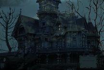 Samhain/Halloween atmosphere...