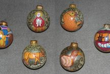 Crafts / Ukrainian Easter Eggs, Christmas Decorations, and other hand-made crafts