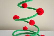 Árvore de Natal em tricô