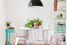 Casas - Sala de Jantar {Casamentos & Casas}