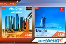 Flight Offers / Special discounts and flight offers from World Airfares