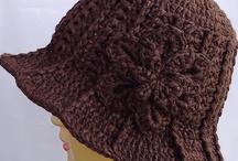 шляпки и шапочки крючком и спицами
