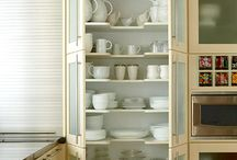 kitchen cabinet ideas / by Linda McKinney