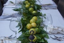 Special occasions and Table decorating and settings / Special table decorating