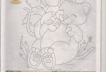 Pintura e Riscos de Ursos