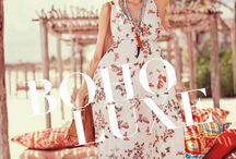 Boho Luxe / The new bohemian is chic, free, confident and sexy in a sophisticated way.
