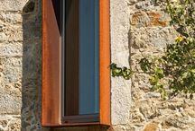 Fensterlaibung Stahl