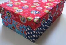 maken van kartonnen dozen