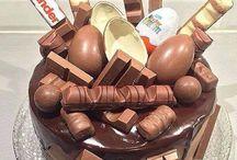 ideeën mega chocolade taart.