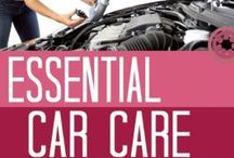 Automotive Maintenance for Women / We all drive cars and sometimes they need a little work.  It's handy to know what's what, even if it's just to be able to protect yourself from dishonest mechanics.  Knowledge is POWER!