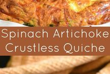 Quiches - low carb or paleo