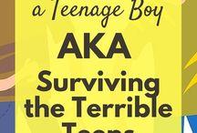 Tips Parenting teen boys