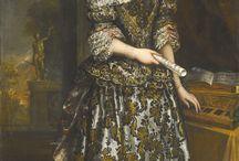 women's portraits 1675-1700
