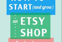 Setting up shop / Everything you need to know for setting up an etsy, eBay or online shop,  especially based on handmade jewellery