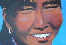 AlecArt : Série Ethnie / Dans cette série je peins des portraits et des masques ethniques principalement les ethnies d'Afrique noire, d'Asie  et d'Amérique latine/centrale (Incas, Mayas) à l'acrylique sur châssis entoilé.  Ici, retrouvez quelques-unes de mes créations de cette série.  █ Retrouvez toutes mes créations, expo, presse... sur : www.abertrand.biz et suivez mon actualité artistique sur http://www.facebook.com/ABpeintre !