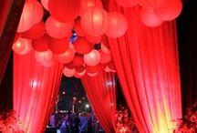 Red carpet dance