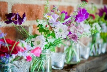 Flowers and table decorations / by Eleanor Mellis