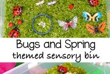 Sensory / sensory bins, preschool, toddler,