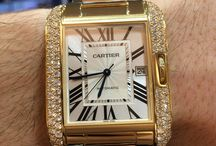 Cartier Tank yellow gold diamonds / https://www.youtube.com/watch?v=A6vVNK-cDNA