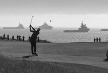 15 Shades of Grey / Scotland has 14 golf courses rated in the world's top-100. Since we also include Royal Portrush in our programmes (Northern Ireland), we thought we'd introduce you to all fifteen of them! We also decided we'd go a bit arty 1960's Paris on you, in the hope that it adds to your enjoyment and appreciation