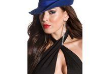 Dámske čiapky/šiltovky/klobúky / Dámske čiapky, šiltovky a klobúky. Trendy a štýlové čiapky na zimu, šiltovky zdobené kamienkami rôznych vzorov a elegantné dámske klobúky.